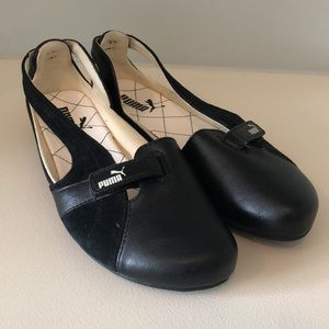 NWOT Puma Espera Ballerina Flats Slip On Velcro
